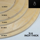 Wood Rounds Circles Sanded Plywood Unfinished Thick 3 4 INCH Premium Custom Wood