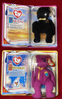Set Of 2 Ty McDonalds Beanie Baby Bear The End And Millennium