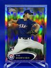 Spectacular 2012 Topps Finest Autographed Yu Darvish Superfractor Pulled  10