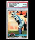 1991 Stadium Club Members Only BARRY SANDERS Player Of The Year PSA 10 Gem MT