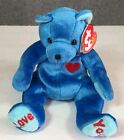 Ty Beanie Babies Dad-e the Bear, 2002 PE Pellets, New with Tags