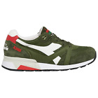Diadora N9000 H Mesh Italia Olive Green White Red Mens 75 12 Made In Italy New