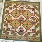 Strawberry Faire The Quilt Company Pattern Set 6 + accessory fabric packet