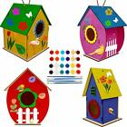Art Craft Wood Toys for Kids Kit Painting Puzzle DIY Wooden Assembly Wooden Arts