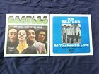 BEATLES All you need is love + Let it be + Get back + Lady Madonna PS only M
