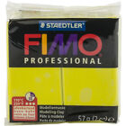 Fimo Professional Soft Polymer Clay 2oz Lemon Yellow 6 Pack