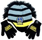 WWE Boys Hat And Gloves Set John Cena Trust Loyalty Respect Never Give Up