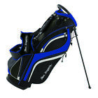Ben Sayers Deluxe Stand Bag - Black/Blue