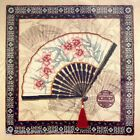 DIMENSIONS Oriental Fan Counted Cross Stitch Kit REDUCED