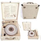 Vintage Newcomb Portable Record Player EDT 15 C Suitcase Classroom Briefcase
