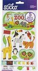 Sticko Themed Flip Pack Stickers 150 Pkg Zoo 3 Pack