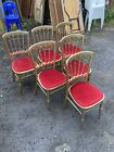 Wedding Chairs Cafe Pub Wooden Gold Stacking