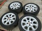 """MGF MG TF 15"""" MINILITE TYPE SET OF 4 ALLOY WHEELS & TYRES"""