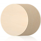 16 Inch Round Wood Circles Unfinished Round Wood Cutouts for Crafts Door Hanger