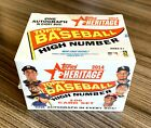 2014 TOPPS HERITAGE HIGH NUMBER COMPLETE SEALED BOX SET! DEGROM BETTS! W 1 AUTO!