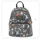 Loungefly Pre Order Exclusive 2021 Mickey  Friends Not So Scary Halloween AOP