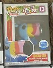 Funko Pop Ad Icons Shop Exclusive Toucan Sam #13 Froot Loops Figure Rare!