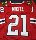 Stan Mikita Chicago Blackhawks Autographed Signed Jersey XL COA