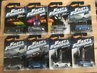 Hot Wheels 2017 Fast  Furious Walmart Exclusive Complete Set Wave 2 Lot of 8
