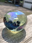 PAPERWEIGHT Roger Vines MSH ASH 87 Art glass Mount St Helens Ash series COLLECT