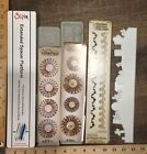 Cutting Die LOT Stampin Up Sizzix Bigz Rosette Tim Holtz Extended Sizzlits Skull