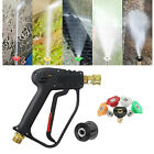 M22 Quick Connect Pressure Washer Gun 4000psi Water Cleaning Power Washer Water
