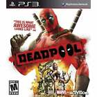 NEW Deadpool IMPORT Sony PlayStation 3 PS3  Video Game