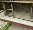 Large wooden dog run suitable for 2 small dogs or 1 large dog