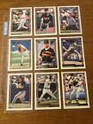 1992 TOPPS BASEBALL ORIOLES LOT OF 27 DIFFERENT GOLD INSERT CARDS + 4 AUTOGRAPHS