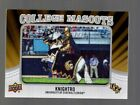 2012 Upper Deck Football College Mascots Patch Card Guide 59