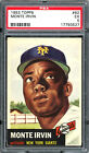 Monte Irvin Cards, Rookie Card and Autographed Memorabilia Guide 9