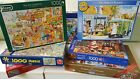 1000 piece JigSaw Puzzles Various Makes- Multi Listing - All £3.00