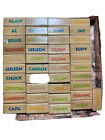 Wholesale Lot 85 Mounted Rubber Stamp by Rubber Stampede Name Stamp New used