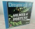 Dreamcast Soldier of Fortune (UK PAL) *MINT CONDITION * Very rare.