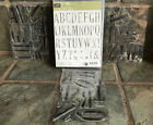 Retired Stampin Up Letters for You Alphabet Photopolymer Stamp Set 37pcs ABCs