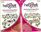 Heartfelt Creations Enchanted Dragonflies Stamp and Dies HCPC 3693 HCD1 770