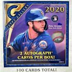 2020 Topps Gallery Box 100 Cards Total! 2 Autos Per Box. 1 Giant Card Inside