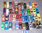 50 Vintage Diecast Toy Cars 80s  90s Matchbox Hot Wheels style cars lot