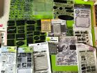 Clear Rubber Stamp Stamps Lot NEW