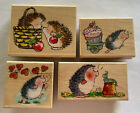 PENNY BLACK Lot Hedgehog In A Basket Chitchat Hearts Away Prize Cupcake