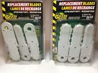 2 Packs Gator Grass Extra Heavy Duty Replacement Blades 3 Blades For Model 4650