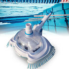 Swimming Pool Suction Vacuum Head Cleaner Cleaning Kit Tool w Filter Screen US