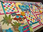 Beach Day My Way Girl Summer premade Scrapbook Pages Paper Piecing Diecuts 12x12