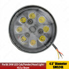 Par36 24W LED Sealed Round Hi Lo Beam 12V 24V W Wired Cable Replace OEM A11280