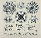 Elegant Snowflakes with Thin Cuts Dies Z3899Close To My Heart Christmas winter