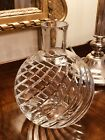 Magnificent Signed BACCARAT Cut Crystal Swirl Carafe Vase CYCLADES 75Tall