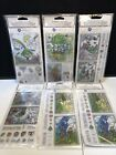 Hampton Art Coloring Clear Stamps Lot Of 6 NEW