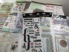 Huge Scrapbooking Lot Stickers Embellishments Vacation Baby Family Pet Wedding +