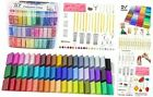 Polymer Clay 57 Colors 12 oz Block Oven Bake Modeling Clay Kit with 19