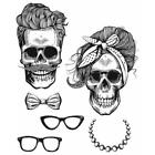 Tim Holtz Cling Rubber Stamps Wicked Hipsters CMS439